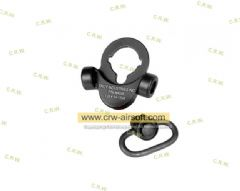2 Way M4 AEG QD Sling Swivel Adaptor (BK)
